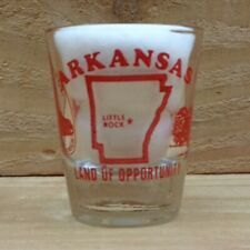 "LAND OF OPPORTUNITY - ARKANSAS ""Shot Glass"" orig."