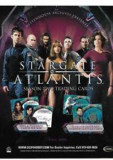 Stargate Atlantis Season 2 Promotional Sell Sheet