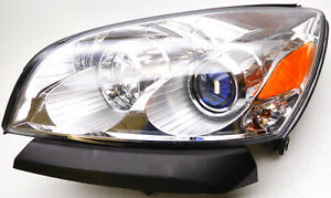 OEM Saturn Outlook Left Hand Driver Side HID Headlight Complete