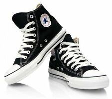 Converse Chuck Taylor Star Black White Hi Top Mens Womens Canvas Shoes Sizes