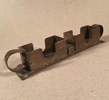 Rare ROYCROFT Brass Plated Copper Cigarette & Matchbox Dispenser Holder