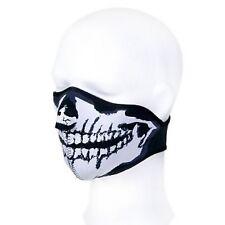 Masque néoprène demi tête de mort - Airsoft