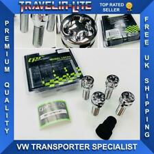 VW T5 T5.1 T6 Transporter Locking Wheel Nuts Premium Quality TPI M14 x 1.5 35mm