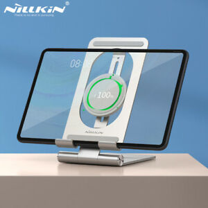 Nillkin For iPhone iPad 15W Qi Wireless Charger Aluminum Tablet Alloy Holder
