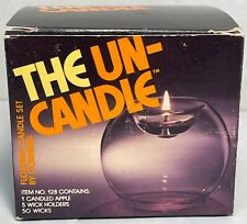 """The Un-Candle - """"Candle Apple"""" No. 128 by Pyrex / Corning - Vintage 1970's"""
