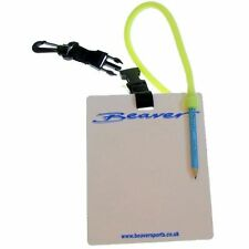Scuba Divers DIVE SLATE + PENCIL and QUICK RELEASE CLIP and LANYARD