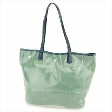 Furla Tote bag Green Navy Woman Authentic Used T6081
