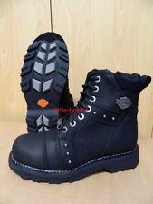 Harley-Davidson Boots Stiefel Damen Leder schwarz Gr 40 - 84276 Oakleigh SALE