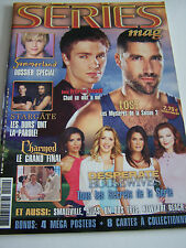 SERIES MAGAZINE N° 40 ANNEE 2006 . LOST . SMALLVILLE . STARGATE . CHARMED .
