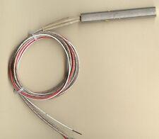 """FAST HEAT Cartridge Heater 1/2""""D x 3.5"""" L 175W 240V 34"""" Fiberglass Leads Type J"""