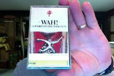 Wah!- A Word to the Wise Guy- new/sealed cassette tape- Canada