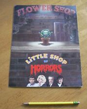 1986 Little Shop of Horrors movie lobby card foldout