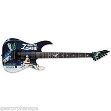 ESP LTD Kirk Hammett White Zombie KH-WZ KHWZ B-Stock w ESP Tombstone
