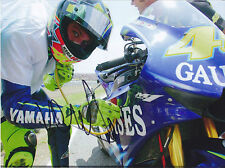 MotoGP Catalunya 2004 VALENTINO ROSSI Signed Stethoscope Victory Photo
