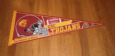 2004 USC Trojans Rose Bowl pennant NCAA football Matt Leinart Southern Californi