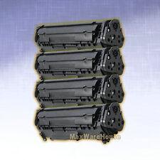 4PK Toner Cartridge 104 for Canon 0263B001AA FX-10 FX9