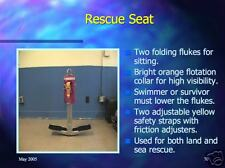 995 page Navy RESCUE SWIMMER PowerPoint Training Presentation CD