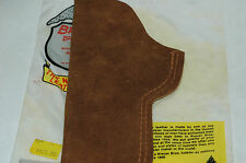 New Brauer Bros Leather Concealable inside the pants Holster ES-A25 .9mm- 45mm