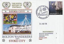 New listing 16 AUGUST 2008 BOLTON WANDERERS v STOKE CITY PREMIERSHIP DAWN FOOTBALL COVER