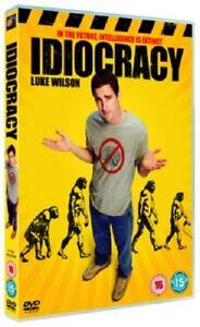 Idiocracy Region 2 DVD New (Luke Wilson)