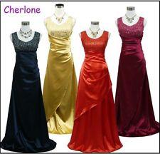Damenkleider aus Satin Größe 44 in Übergröße