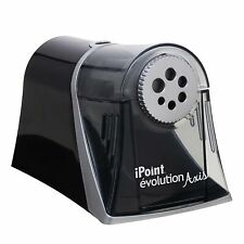 Electric Pencil Sharpener Multi Hole Dial Fast Sharpening Auto Stop Feature NEW