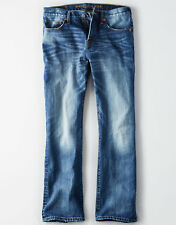 American Eagle Men's Classic Bootcut Jeans - Dark Wash - 33x32 - NEW Version