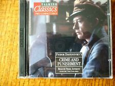 2 CD AUDIO BOOK - CRIME AND PUNISHMENT -Talking Classics No 47