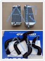 ALUMINUM RADIATOR + Hoses For SUZUKI DRZ400E DRZ 400E 2002-2007 MODEL K2/K3/K4