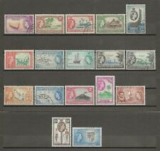 BRITISH SOLOMON ISLANDS 1956-63 SG 82/96 USED Cat £60