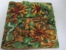 Harmony Kingdom A Frogs Life Byron's Secret Garden Tiles Pxge3 3 Dimensional