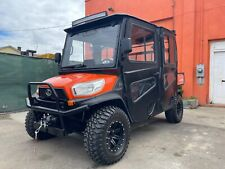 2019 KUBOTA RTV-X1140 CPX, HEAT CAB, CREW OR EXTENDED DUMP BED BRAND NEW WINCH
