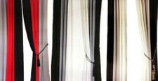 Rideaux et cantonnières écharpes pour le bureau