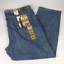 NWT Wrangler Hero Five Star Relaxed Fit Blue Jeans U-Shape 46x30