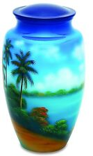Paradise 210 Cubic Inches Large/Adult Funeral Cremation Urn for Ashes