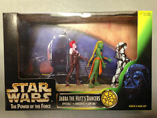 1998 KENNER STAR WARS POWER OF THE FORCE JABBA THE HUT'S DANCERS FIGURE SET