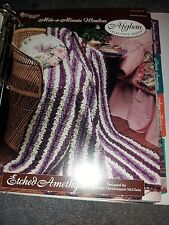 Etched Amethyst crochet pattern Needlecraft Shop Afghan Collector's Series