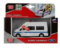 Toy car Ford Transit collectable model Police inertial mechanism sound