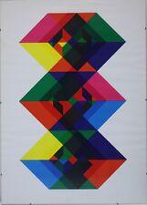 Heimann Timo 1933-2005 Geschachtelter Kuben-Doppelturm 48/100 sig. 71