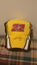 New Signed Ward Burton Cat Racing 22 Autographed Hat w/tags