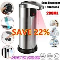 Free Touchless Sensor Soap Dispenser Stainless Steel Liquid Washer IR Sensor