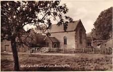 uk12754 lynch chapel of ease bossington  real photo  uk