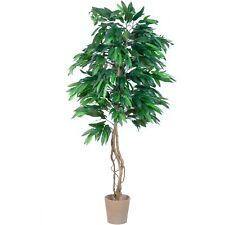 Mangobaum Echtholzstamm Kunstbaum Kunstpflanze - 180 Cm
