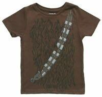 Star Wars New Chewbacca Kids Brown Costume T-Shirt