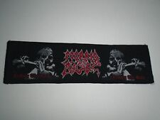 MORBID ANGEL LEADING THE RATS WOVEN PATCH