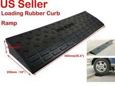 Heavy Duty Loading Rubber Dock Rubber Curb Ramps Car Slope Ramp 20Ton