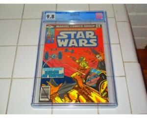 STAR WARS #25 CGC 9.8 1ST APPEARANCE OF BARON ORMAN TAGGE AND JORMAN THOAD