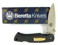 Beretta Knives Lockback Knife Bullet Shield JAPAN Seki Rare + Box 5161-NS