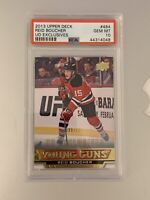 2013 2014 UPPER DECK Reid Boucher PSA 10 YOUNG GUNS EXCLUSIVES RC ROOKIE #/100