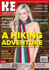 H&E naturist December 2017 magazine nudist health efficiency